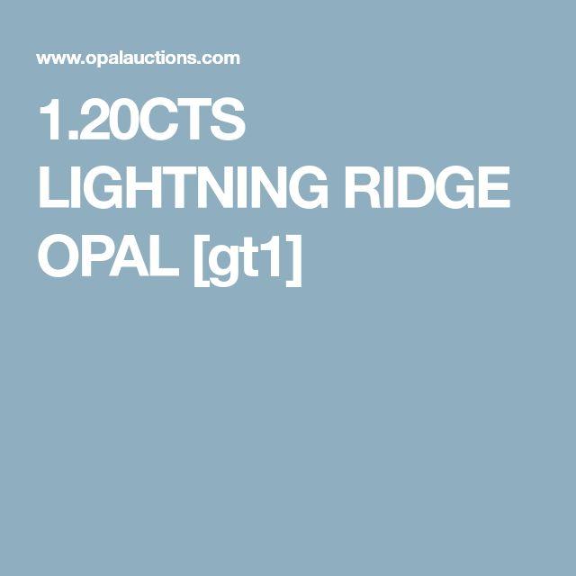 1.20CTS LIGHTNING RIDGE OPAL [gt1]