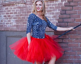 Any Color Adult Tutu Bridesmaid Adult Tutu by PiaMiaBoutique