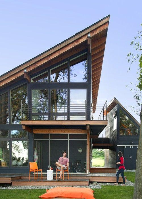 Элегантный дом с видом на озеро от студии CULTivation D.S