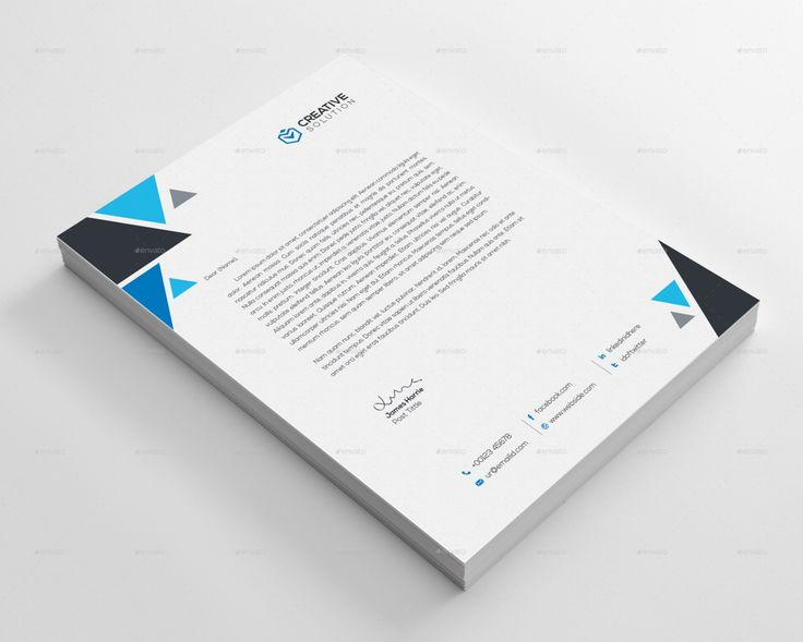 Best Letterhead Templates For All Types Of Business Images On