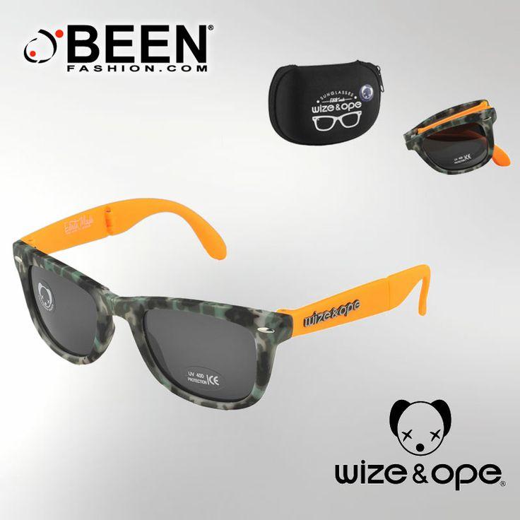 Marca il tuo stile con gli occhiali camouflage: scegli il tuo colore, indossa #WIZEandOPE, esci di casa e fatti notare http://www.beenfashion.com/it/wize-ope-occhiali-camouflage.html?utm_source=pinterest.com&utm_medium=post&utm_content=wize&ope-occhiali-camouflage&utm_campaign=post-prodotto