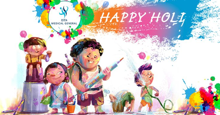 #Wishing #you #and #your #family a #very #bright,#colorful and #joyful #holi. #With #love and #best #wishes #hAPPY #hOLI from #ISTA