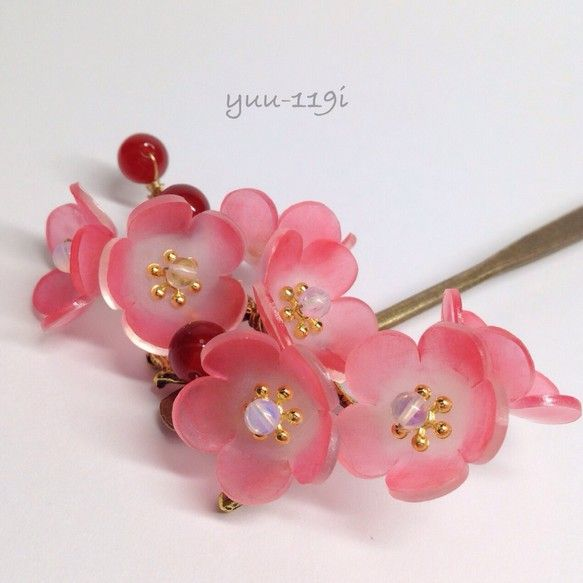 *梅の花の簪*