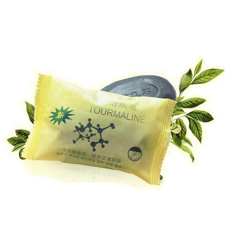 Neue Turmalin Seife Bambus Wirkenergie Seife Holzkohle Konzentriert Seife Für Rungs Face & Körper Schönheit Gesunde Pflege Seife 50g