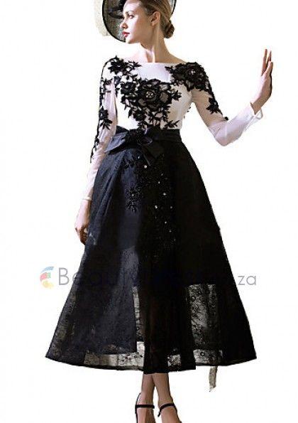 Elegant Short Multi Colours A-line Lace Tulle with Appliques Cocktail Party Dresses - 6l12126 - Evening Dresses