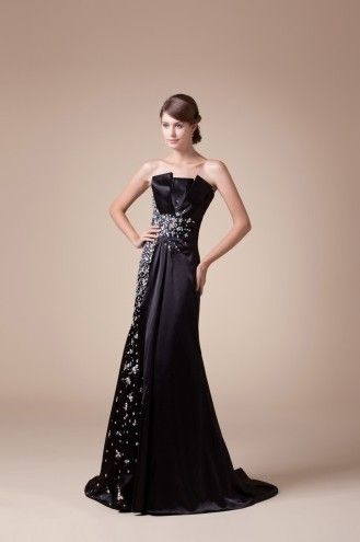 http://www.trouws.com/avondjurken-c25 prachtige off-the-shoulder lange zwarte avondjurken - €145.02 , Trouws.com