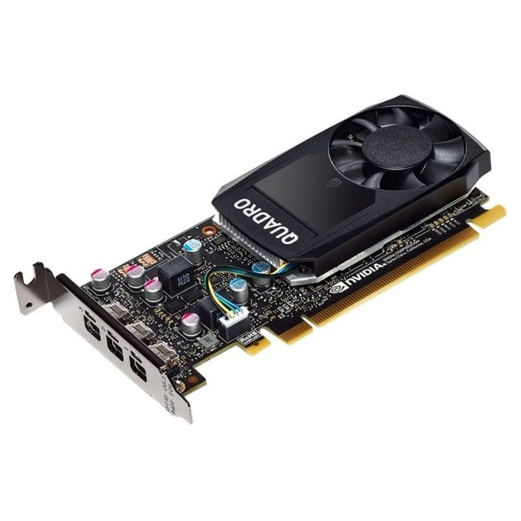 PNY Quadro P400 Graphic Card - 2 GB GDDR5 - PCI Express 3.0 x16 - Low-profile - Single Slot Space Required - 64 bit Bus Width - Fan Cooler - OpenGL 4.5, DirectX 12, OpenCL, Vulkan 1.0, DirectCompute - 3 x Mini DisplayPort - Linux, PC - 3 x Monitors Suppor