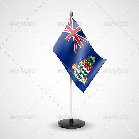 Table Flag of Cayman Islands - Miscellaneous Vectors