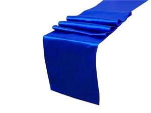 Royal Blue table runner 12x108in - purchase 10-24 and they're $2.11 each - used this site for my wedding table runners and was super cheap and good quality - good place to buy from again for special occassions