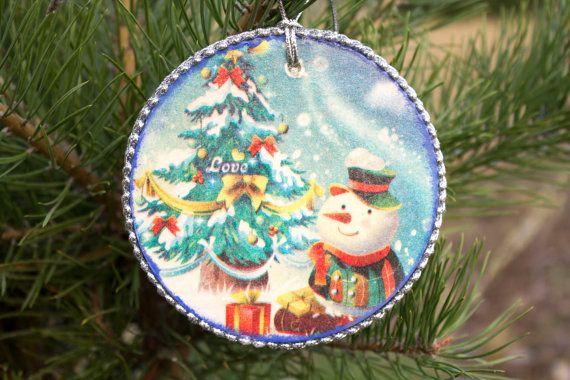 Big Christmas Ornament vintage Christmas decoration от elanka