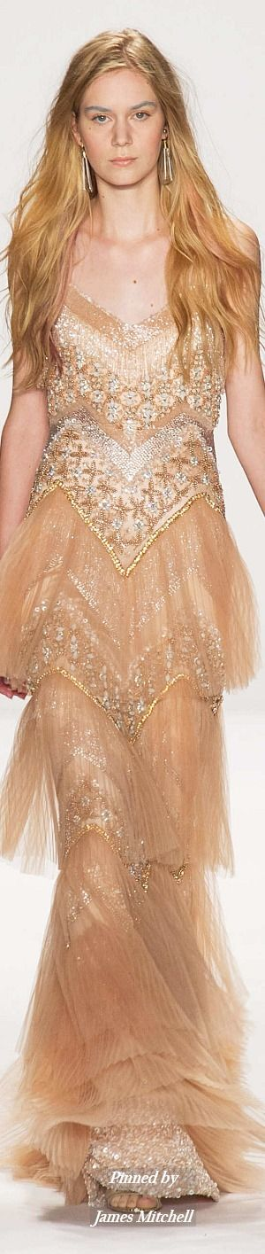 Badgley Mischka Collection  Spring 2015 Ready-to-Wear