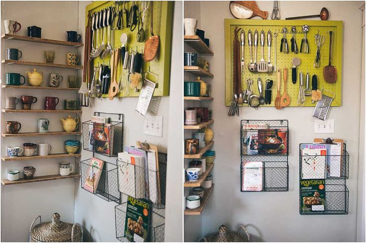 60 best images about pegboard ideas on pinterest for Kitchen pegboard ideas
