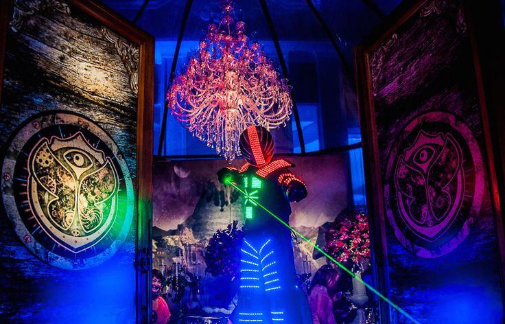 Festa tema Tomorrowland Larissa: robô - Fotos: Vips Fotos / João Henrique e Paula Nunes