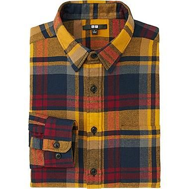 MEN FLANNEL CHECKED LONG SLEEVE SHIRT http://www.99wtf.net/category/young-style/casual-style/