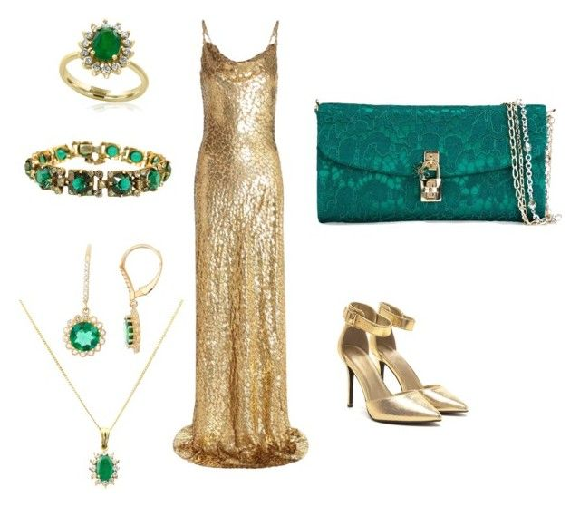 """""""Emerald Beauty"""" by elf-islm on Polyvore featuring Michael Kors, Turner & Leveridge, Effy Jewelry and Dolce&Gabbana"""