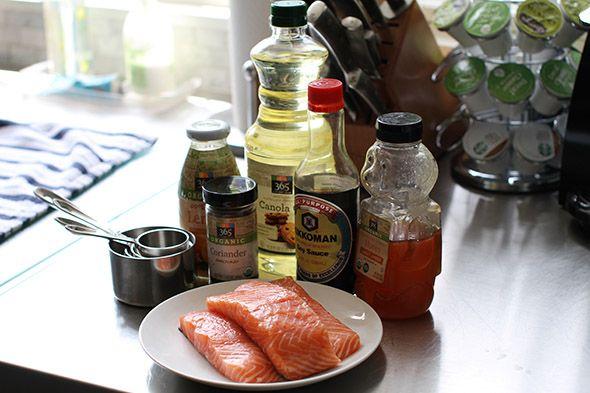 Honey Glazed Salmon recipe | Molly Sims