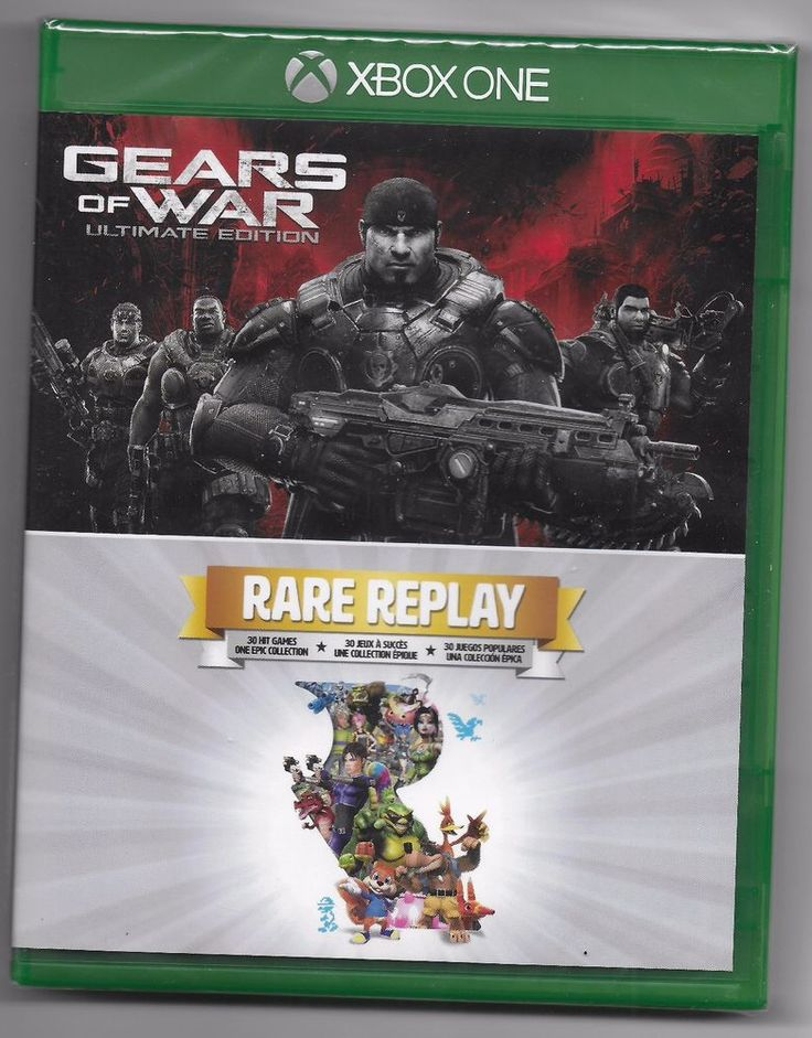Gears of War Ultimate Edition & Rare Replay (Xbox One) -  NEW  FREE SHIPPING