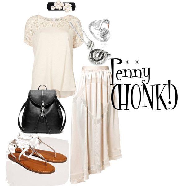 """Penny (HONK! The Musical)"" by hazel-jordan on Polyvore"