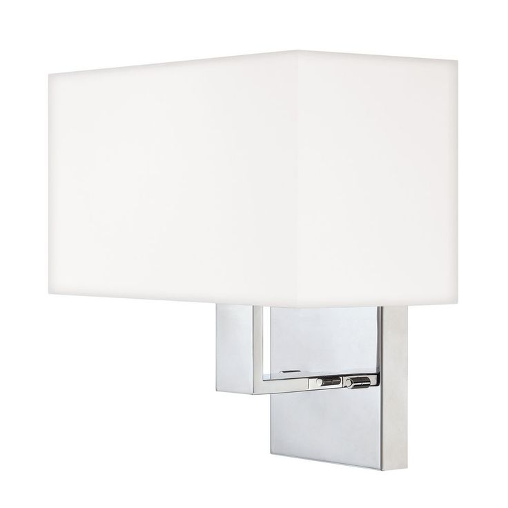 Modern Sconce Wall Light in Polished Chrome Finish at Destination Lighting