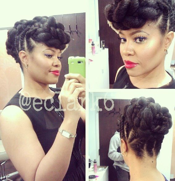 natural hairstyles with perm rods : Marley Braid hairspiration Pinterest Marley braids, Natural hair ...