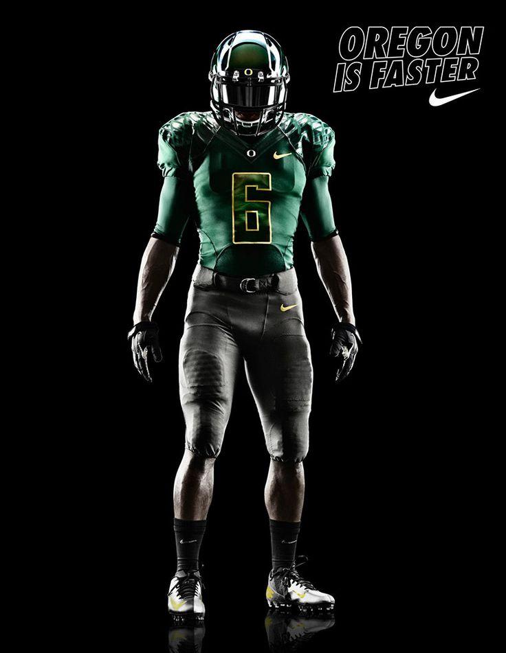 Oregon Ducks Nike Pro Combat Uniform vs. Tennessee Tech (3)