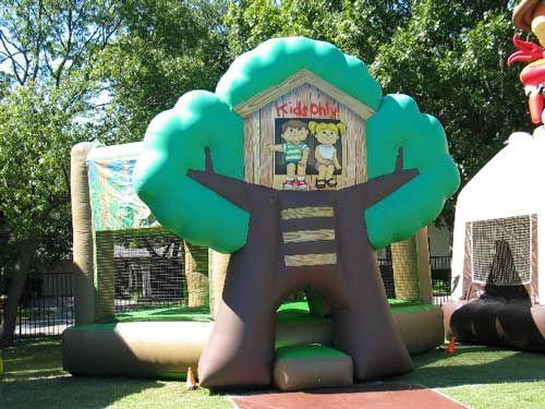 Tree House Bouncer