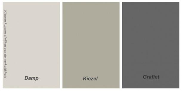 mooie kleuren van Histor voor de woonkamer/keuken
