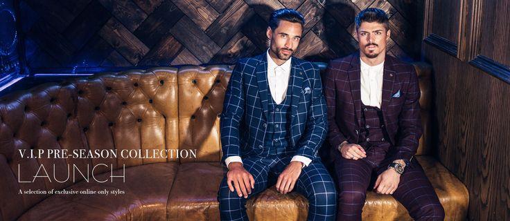 Marc Darcy Designer Menswear | Homepage |