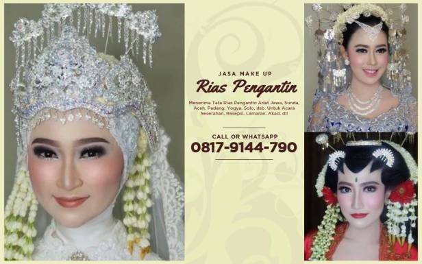 Paket Make Up Rias Pengantin Jawa Modern Garden Party