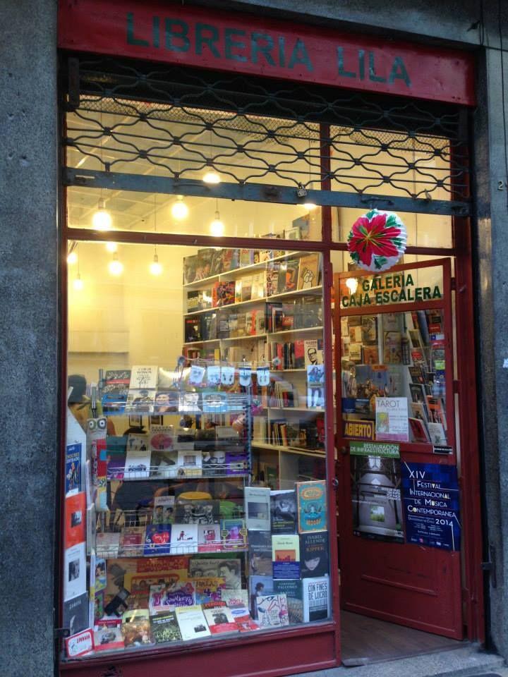 Librería Lila (Barrio Lastarria - calle Monjitas)