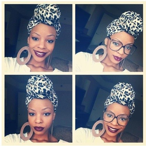 Head Wrap Styles For Natural Hair 266 Best Head Wraps Images On Pinterest  Head Scarfs