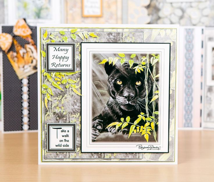 Make gorgeous wildlife cards with the Pollyanna Pickering Walk in the Wild collection. / papercraft / cardmaking / scrapbook / craft / handmade