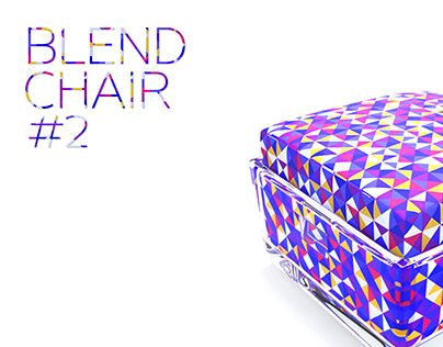 """Check out new work on my @Behance portfolio: """"""""Blend"""" Chair #2"""" http://be.net/gallery/43250439/Blend-Chair-2"""