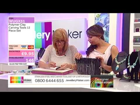 ▶ Learn How to Make Polymer Clay Jewellery [Tutorial]: Jewellery Maker DI 13/07/14 - YouTube
