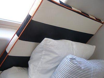 Naifandtastic:Decoración, craft, hecho a mano, restauracion muebles, casas pequeñas, boda: Tutorial: Como hacer un cabecero para la cama con tela y un tablon de madera