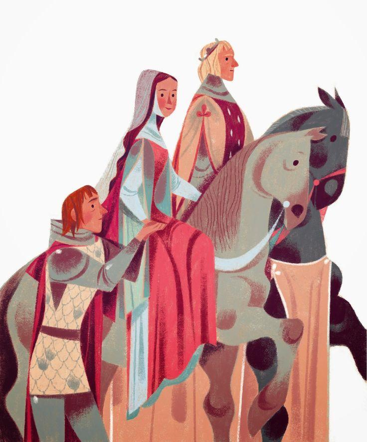 annette marnat: Guenièvre , Arthur et Lancelot