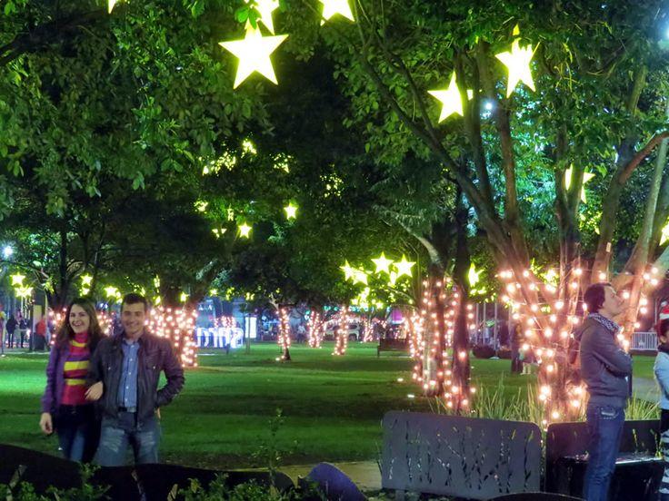 6. Alumbrado Parque de la 93 cerca al Hotel Pavillon Royal