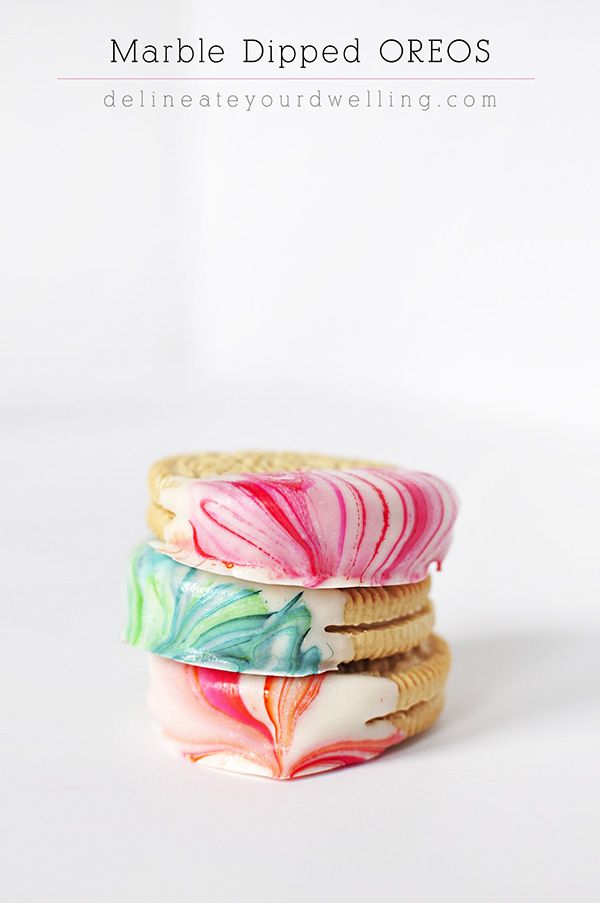 how to make icing dipped oreos for baby shower