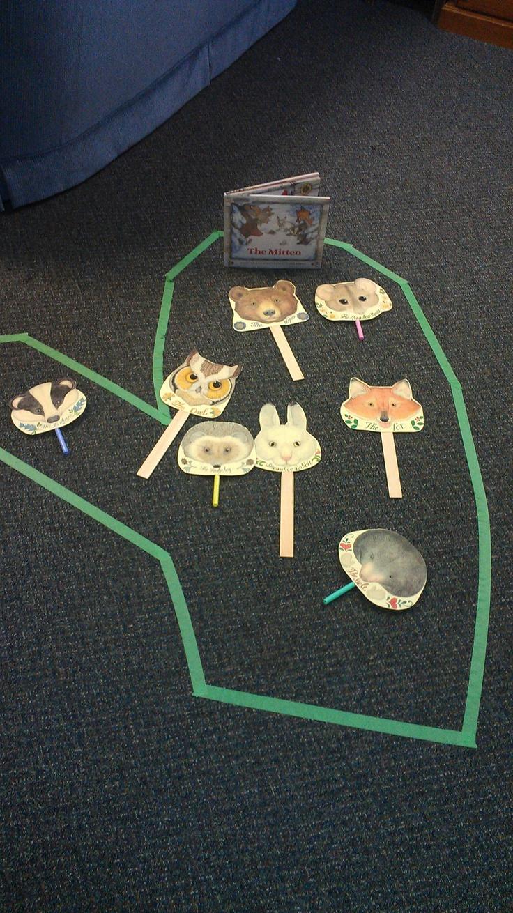 """""""The Mitten"""" activities http://www.janbrett.com/mitten_masks_main.htm"""