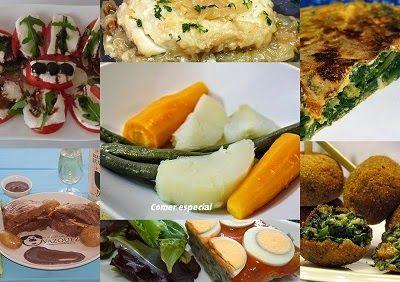Undécimo menú semanal para cenas ~ Comer especial