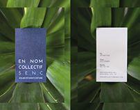 EN NOM COLLECTIF S.E.N.C #branding #design #graphicdesign #logo #clothes #doncarlomtl #businesscard #card