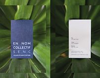 EN NOM COLLECTIF S.E.N.C #branding #design #graphicdesign #logo #clothes #doncarlomtl #businesscard #card