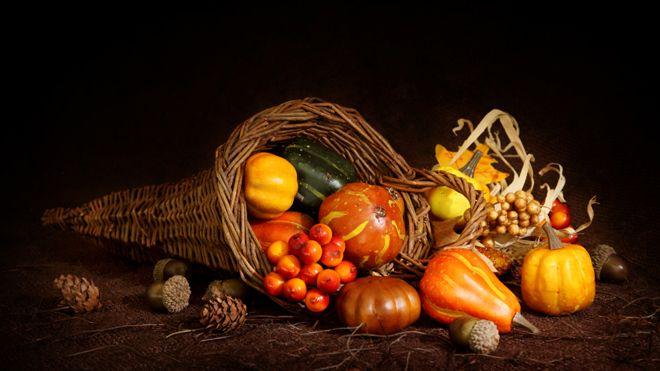 Pilgrim Thanksgiving food