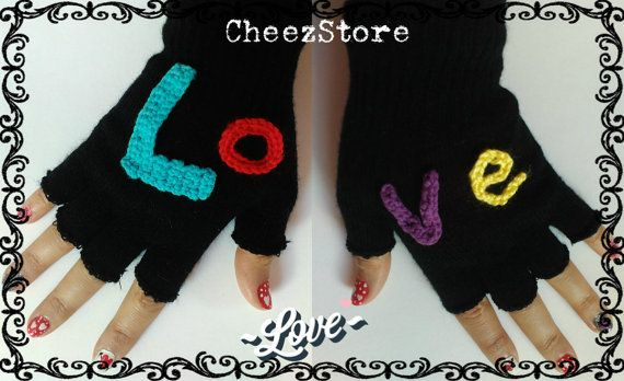 Gloves Fingerless or not In many different colors by CheezStore