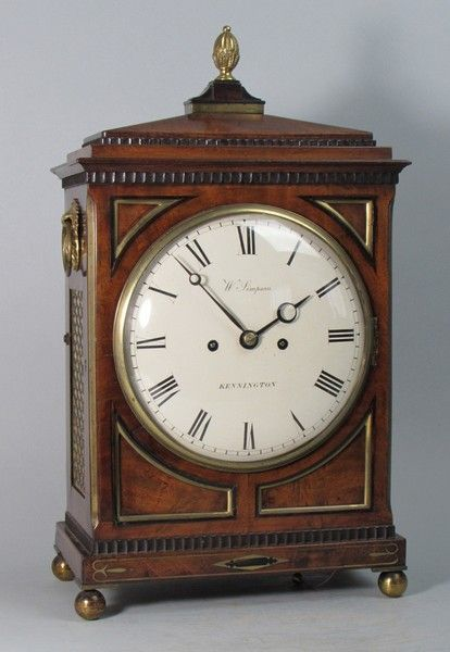 A Regency bracket clock