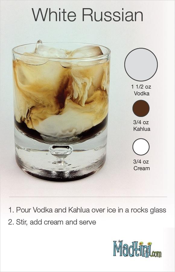 White Russian Drink Recipe White russian cocktail recipe