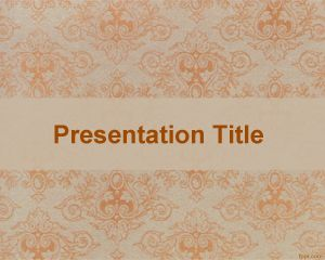 this free carpet powerpoint template is a free basic template with