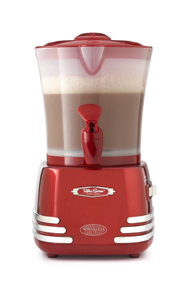 Nostalgia Electrics hot chocolate maker