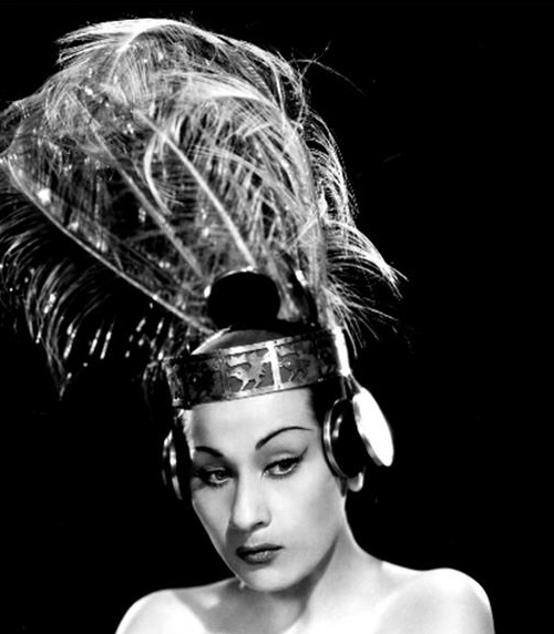 Diosa andina.  Yma Sumac. 1922. Peru