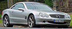 2003-2006 Mercedes-Benz SL 350 (R230) roadster 01.jpg